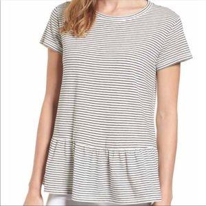 Madewell Striped Tunic Top
